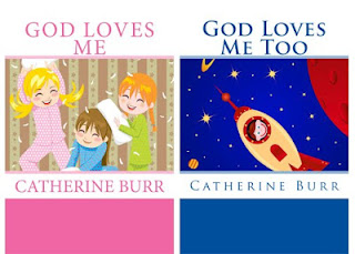 God Loves Me book series by Catherine Burr