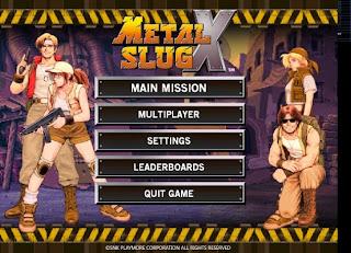 Game METAL SLUG X For PC