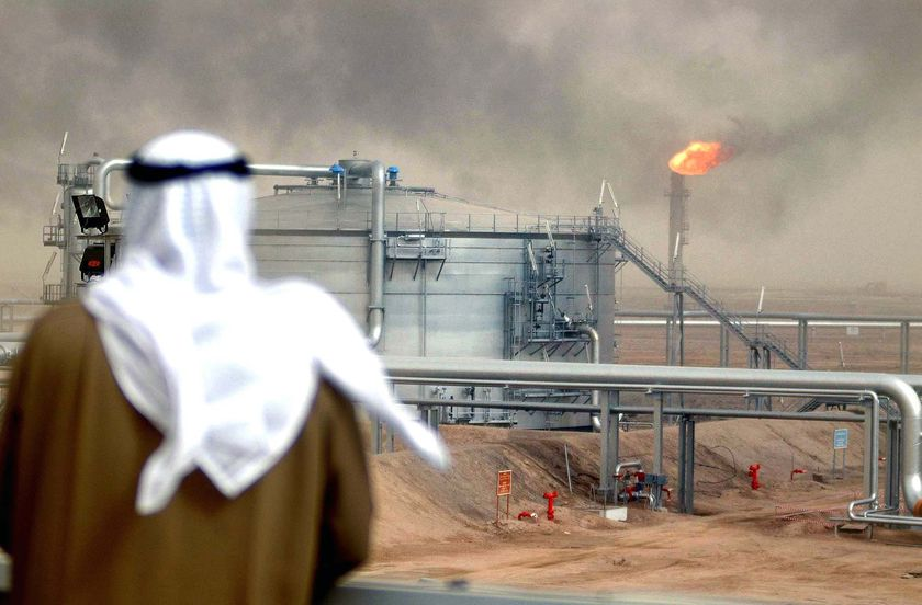 Saudi Arabia's move to keep oil flowing brings crude prices down.