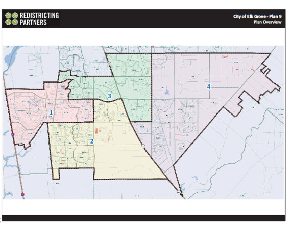 Elk Grove City Council approves new district maps Elk Grove Newsnet