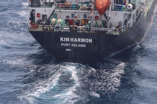 Kapal MT Orkim Harmony Dijumpai