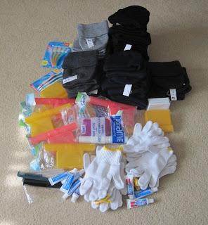 items for homeless