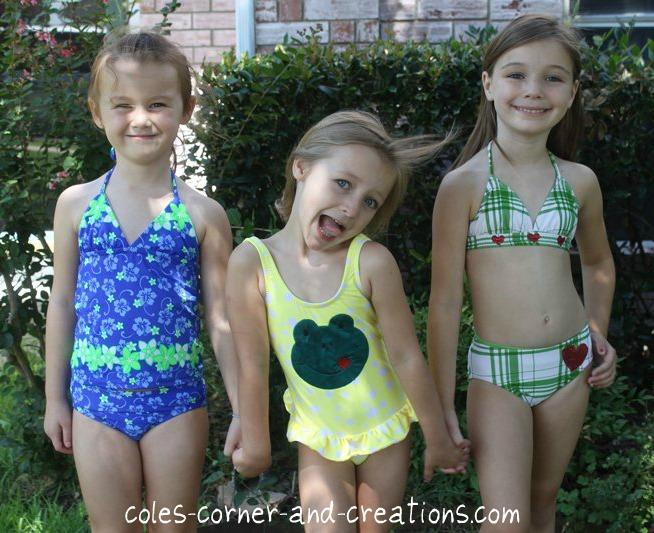 R4786 Salmon 2 8y Little Girls Swimwear One Piece Peppa Pig Swimsuit.