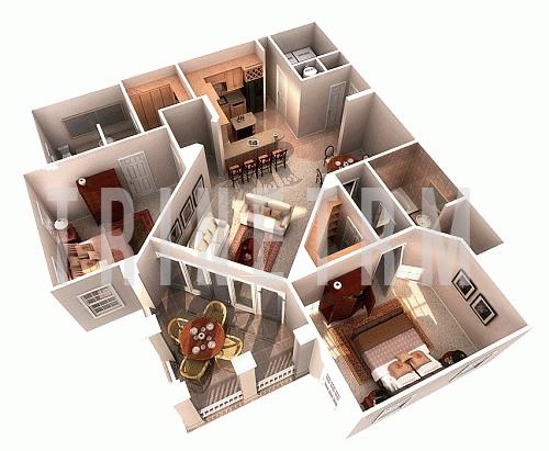 : اجمل خرائط منازل صغيرة : منازل