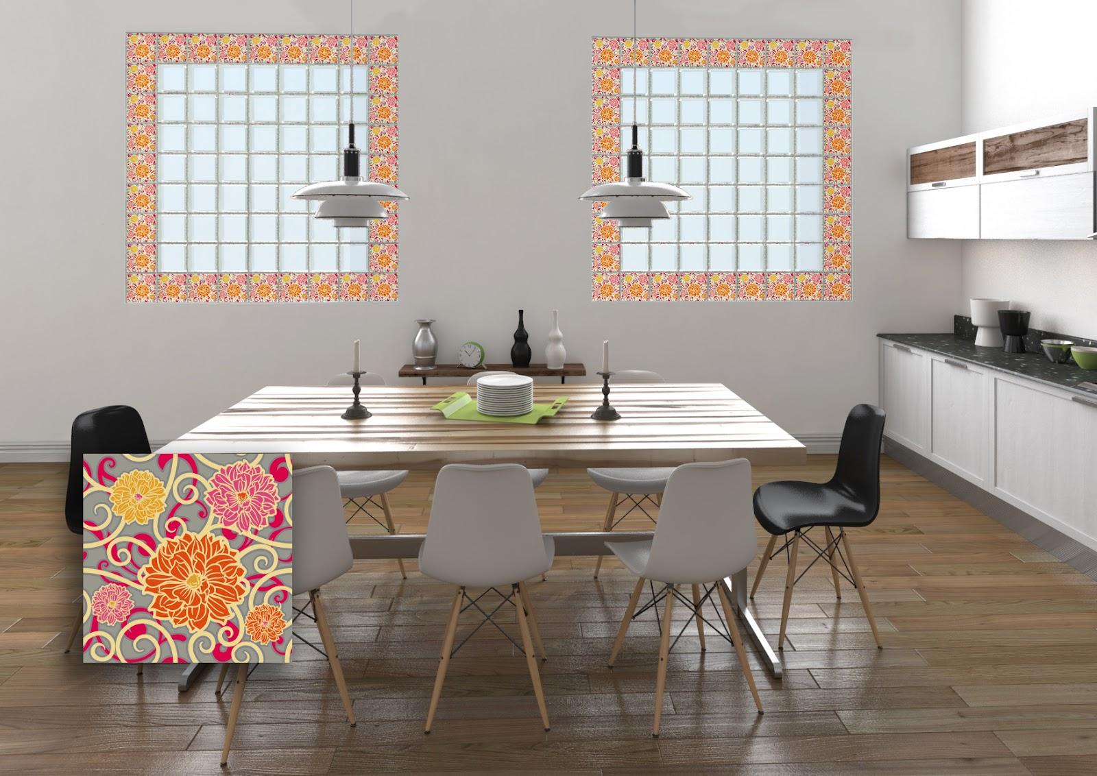 Bloques vidrio decorativos vidrio block decorados bloques for Bloques decorativos