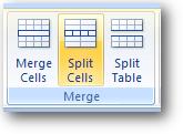Split cells