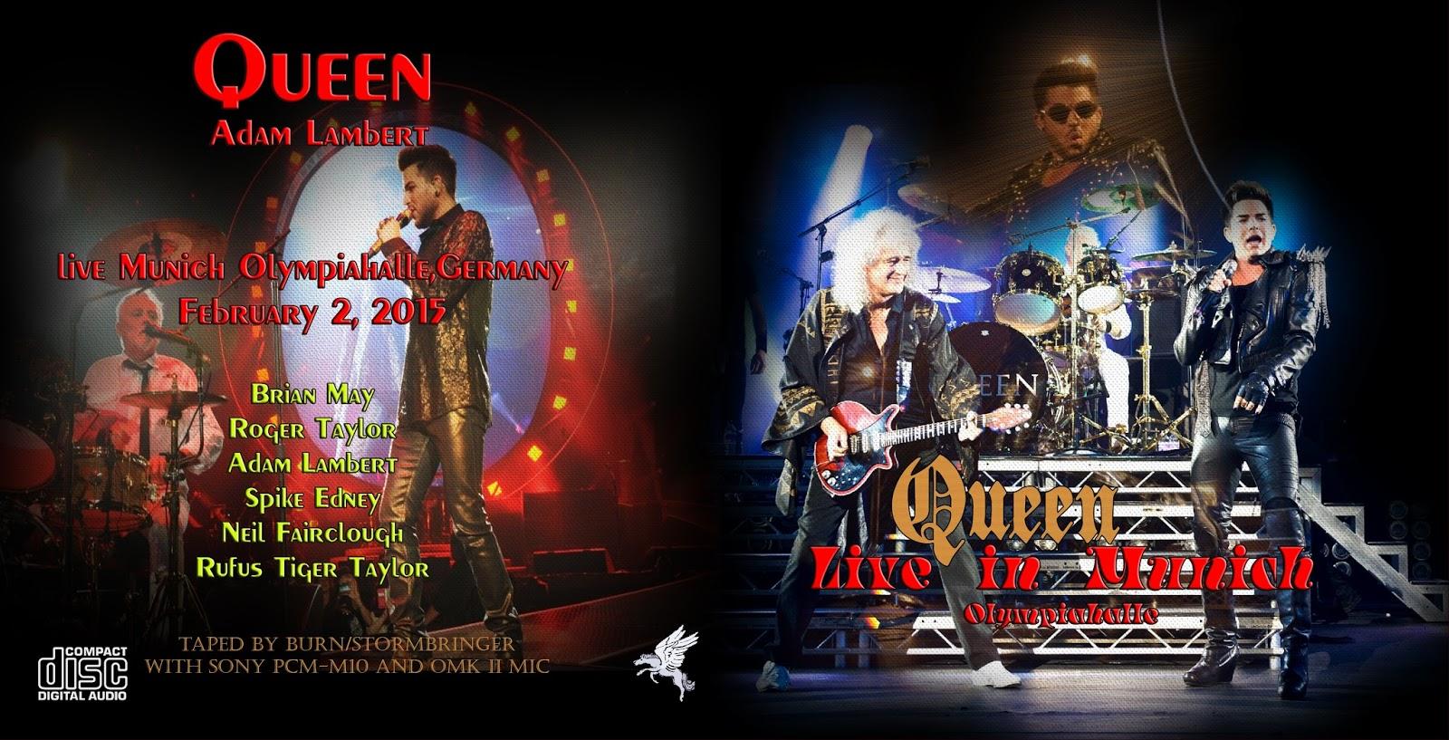 heavy rock bootlegs queen with adam lambert 2015 02 02. Black Bedroom Furniture Sets. Home Design Ideas