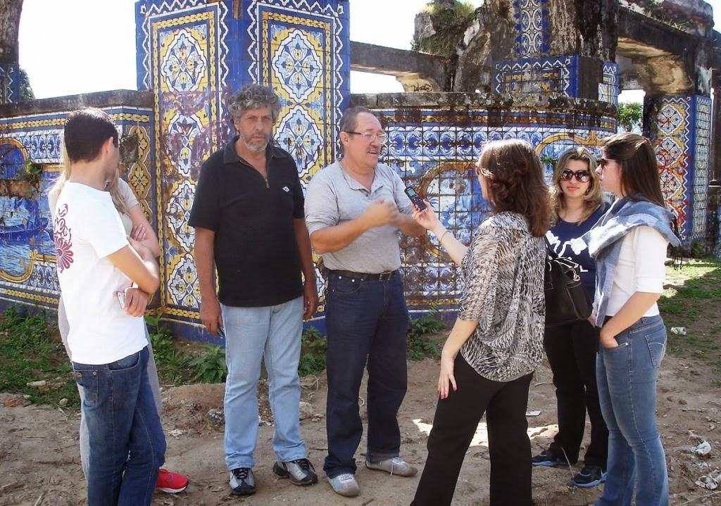 Estudantes de Direito do UNIFESO conversam com moradores da Granja Guarani em Teresópolis