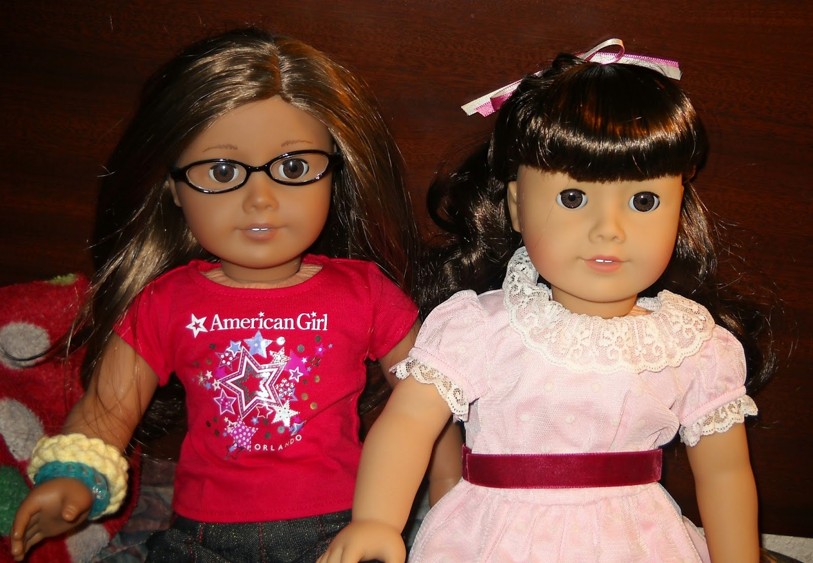 Historical Samantha And My American Girl Doll In Orlando Shirt