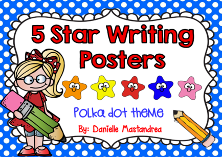 https://www.teacherspayteachers.com/Product/5-Star-Writing-Poster-Set-1362721