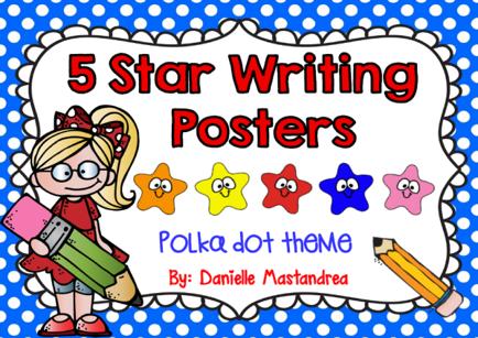 https://www.teacherspayteachers.com/Product/5-Star-Writing-Poster-Set-1362721