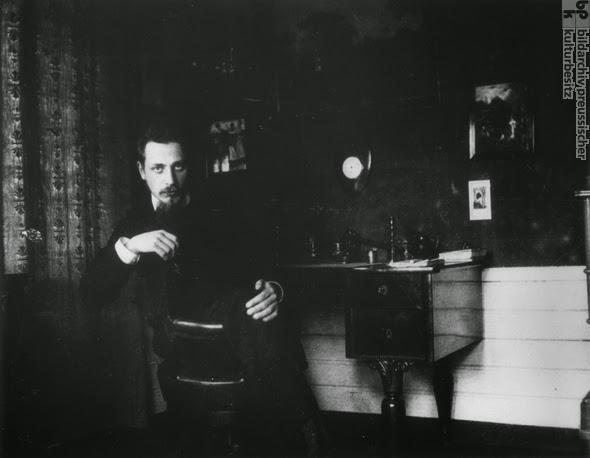 ☾ R.M. Rilke