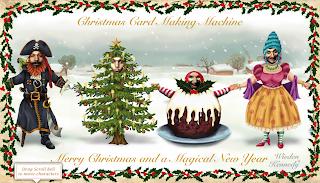 Originální vánoční pohlednice a přání