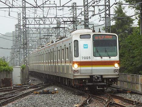 西武狭山線 各停 西所沢行き5 東京メトロ7000系(西武ドーム臨)