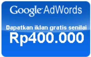 kupon gratis google adword