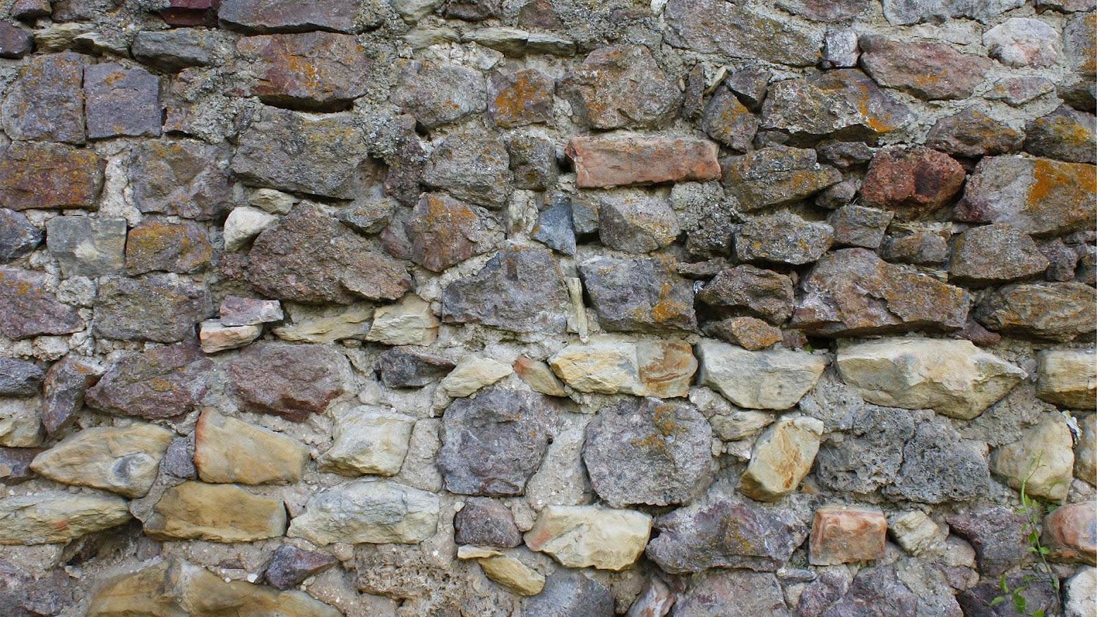 Stenen Muur Wit : Stenen Muur