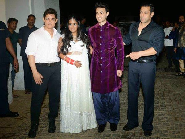 Salman's Sister Arpita Khan's Wedding Gallery