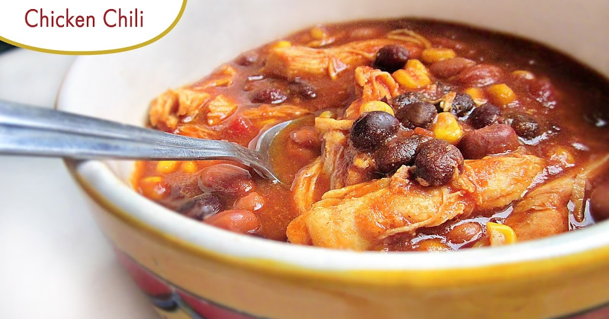 Diddles and Dumplings: Easy Crockpot Chicken Chili