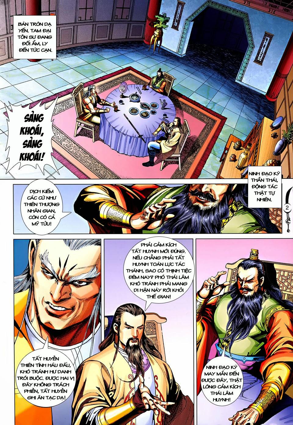 Đại Đường Song Long Truyện chap 250 - Trang 2