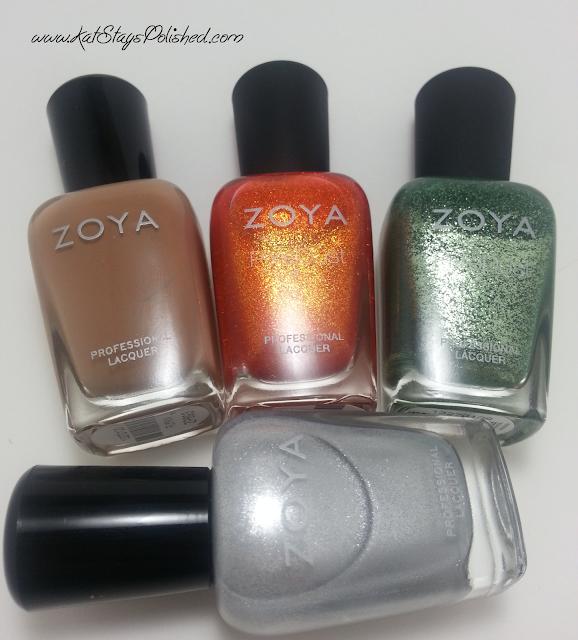 PSL Cupcakes and Nails - Zoya Flynn - Dhara - Chita - Seraphina