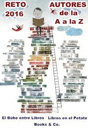 RETO 2016 AUTORES DE LA A A LA Z