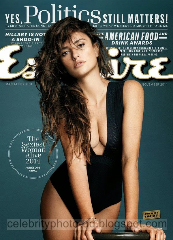 penelope cruz esquire sexiest woman nov 2014 cover
