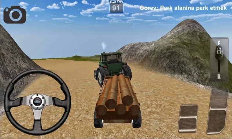 Android Traktör Sürme Oyunu 3D Apk resimi 1