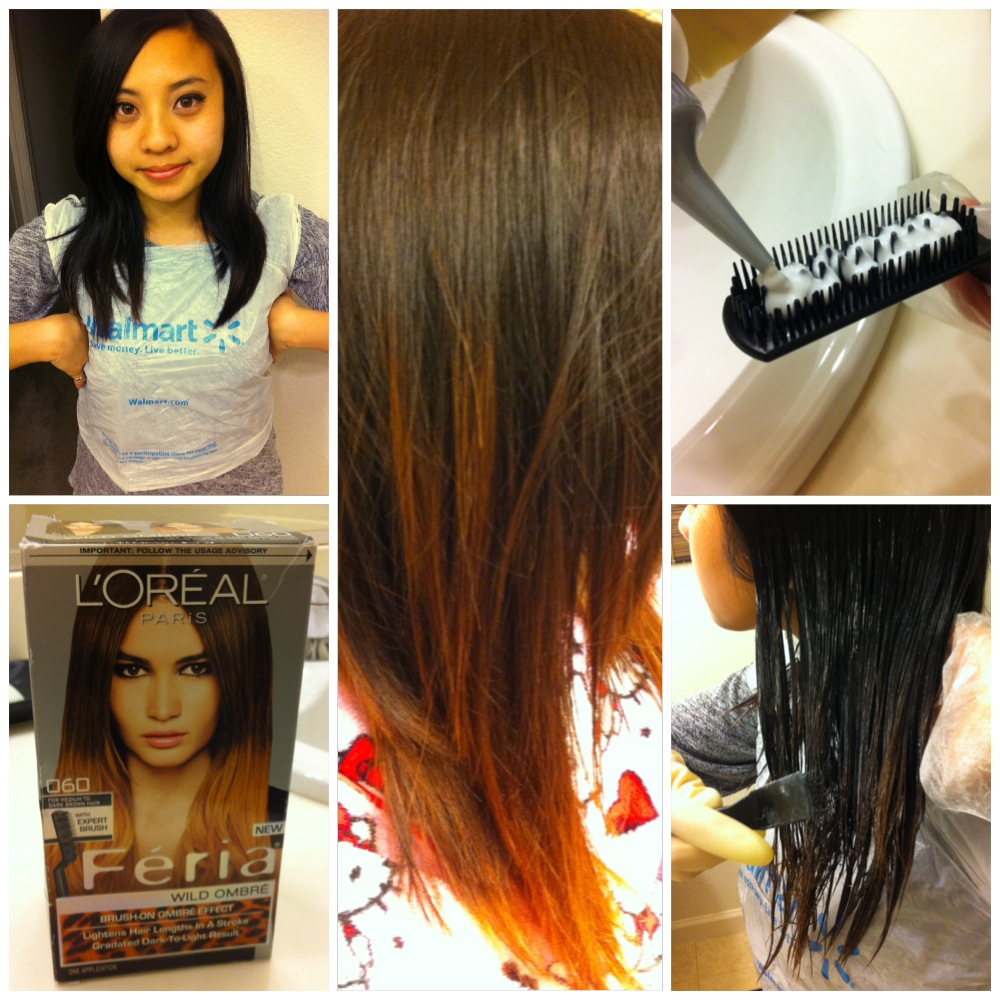 Sew Trendy Diy Hair How To Do Ombre Hair With Loreal Feria