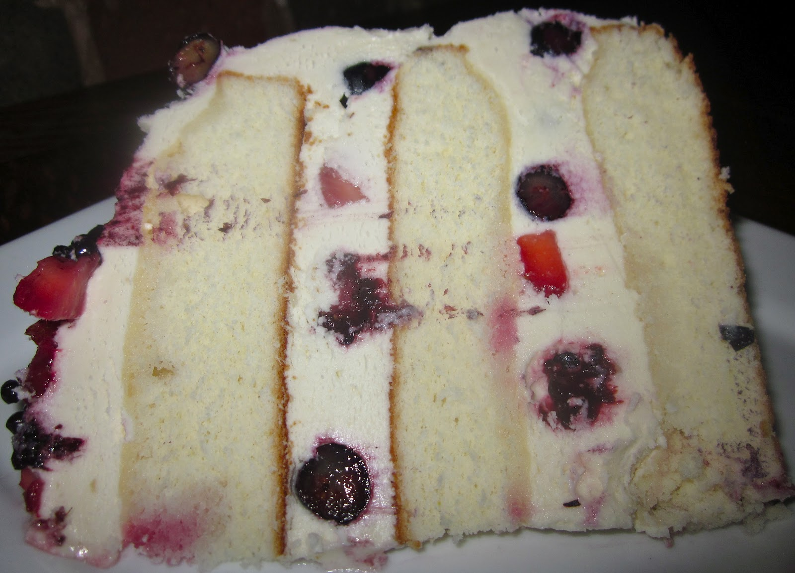 Piece, Love, & Cooking: Mixed Berry Shortcake Layer Cake with Fresh ...