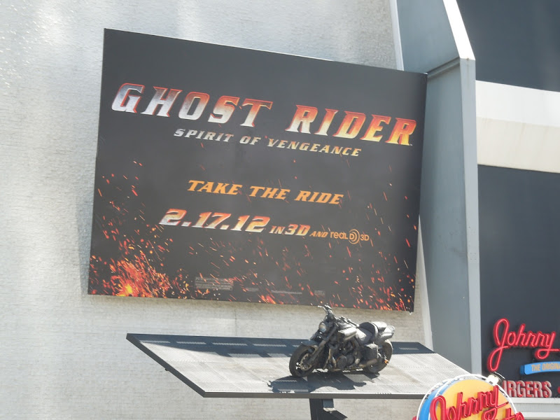 Ghost Rider 2 motorcycle installation