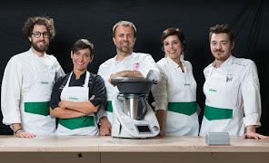 Cinque chef per il Bimby