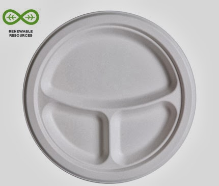 Round Plate by Eco-Products
