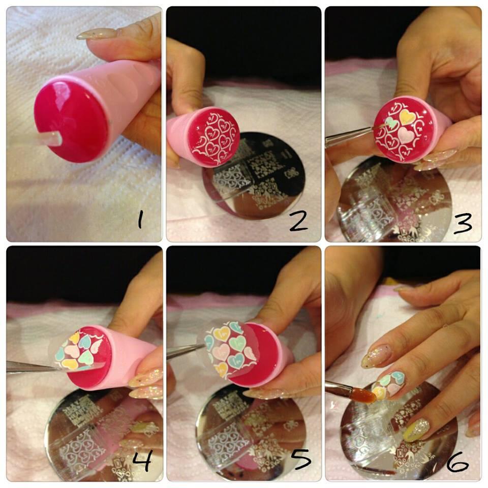 Как сделать печать на ногтях в домашних условиях