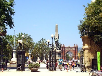 passeig lluis companys, barcelona