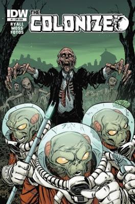 Alieni contro Zombie: nuovo fumetto USA