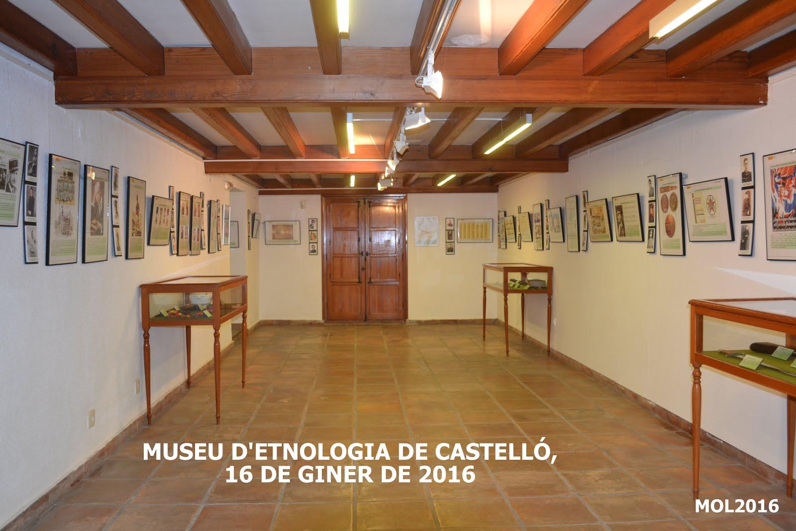 16.01.16 MUSEU D'ETNOLOGIA DE CASTELLÓ, PATRIMONI CULTURAL VALENCIÀ