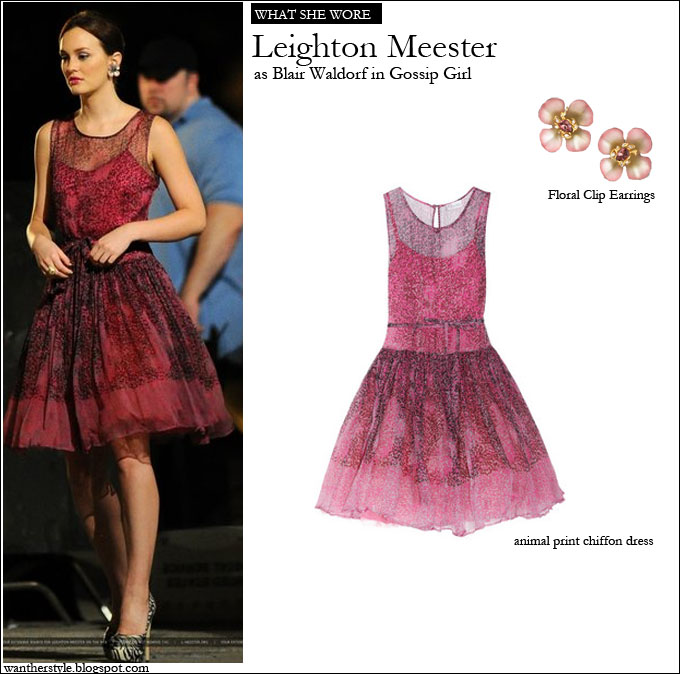 WHAT SHE WORE: Leighton Meester on the set of Gossip Girl season 6 ...