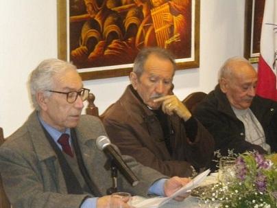 Alejandro Nicotra, Rafael Horacio López y Osvaldo Guevara