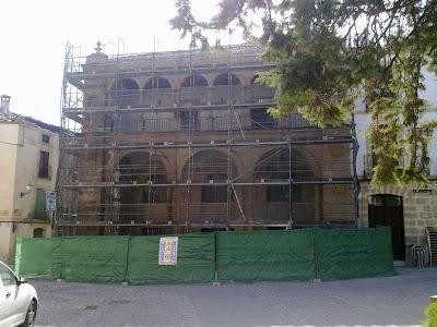Vbeda recatada rehabilitaci n de las antiguas casas consistoriales de beda - Subvenciones rehabilitacion casas antiguas ...