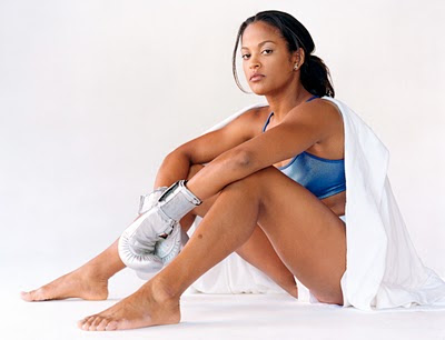... knocking out opponent April Fowler in the first round. laila ali hot ...