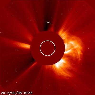 LLAMARADA SOLAR CLASE M1.4, 08 DE SEPTIEMBRE 2012