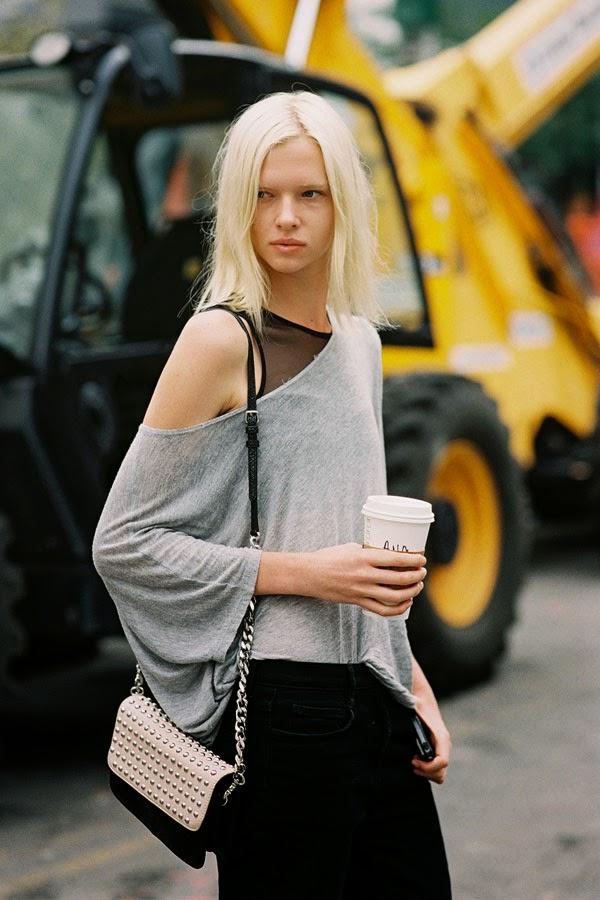 New York Fashion Week SS 2015.Aimee   Vanessa Jackman