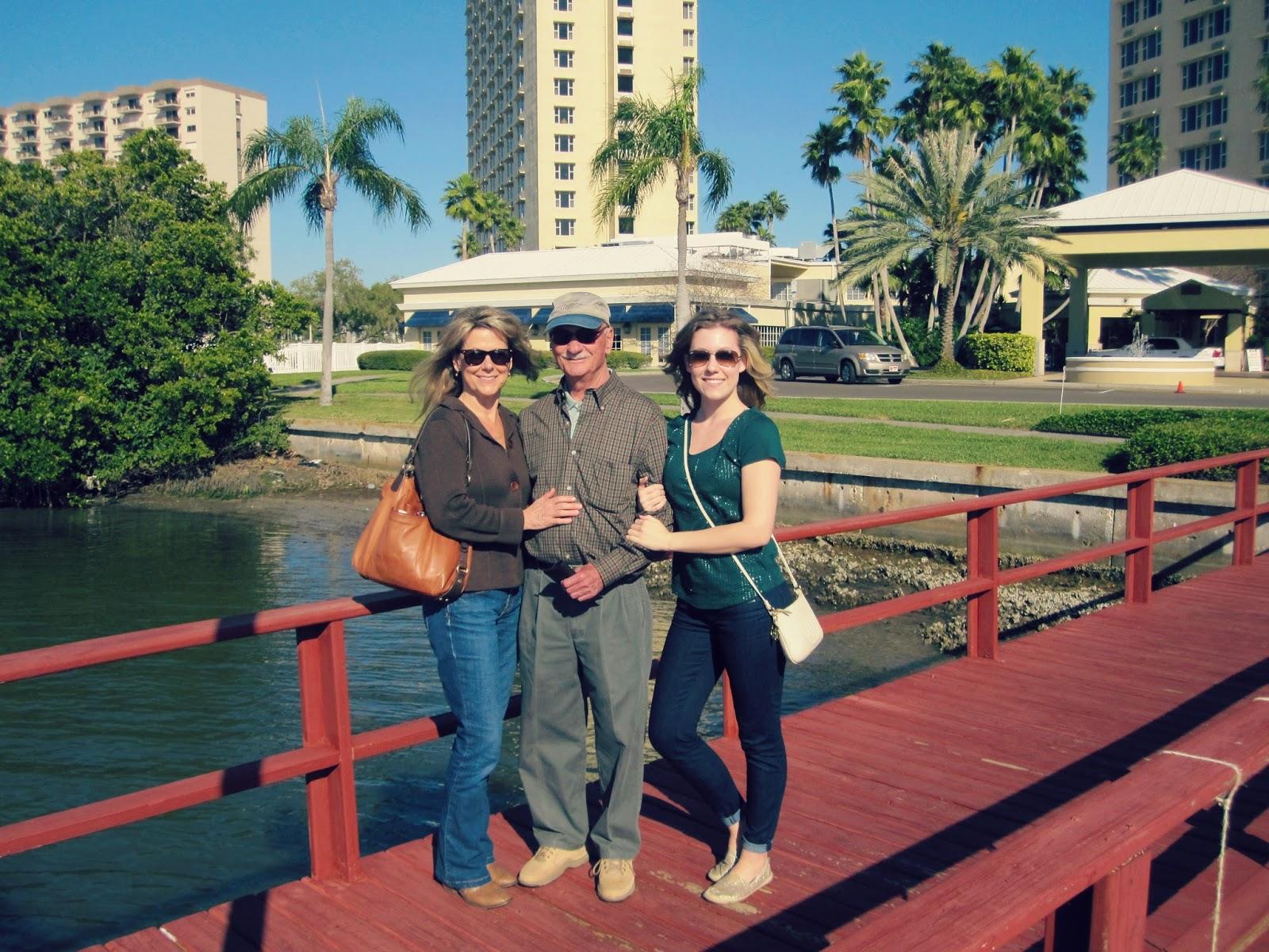 Spring Break In Florida, family photos, florida retirement home