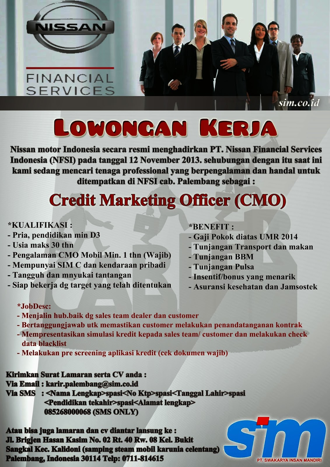 Lowongan Kerja Pt Nissan Financial Services Indonesia. Qualifications For A Private Investigator. Investing In A Money Market Mutual Fund. How To Buy And Sell Antiques. Scholarships Military Spouse
