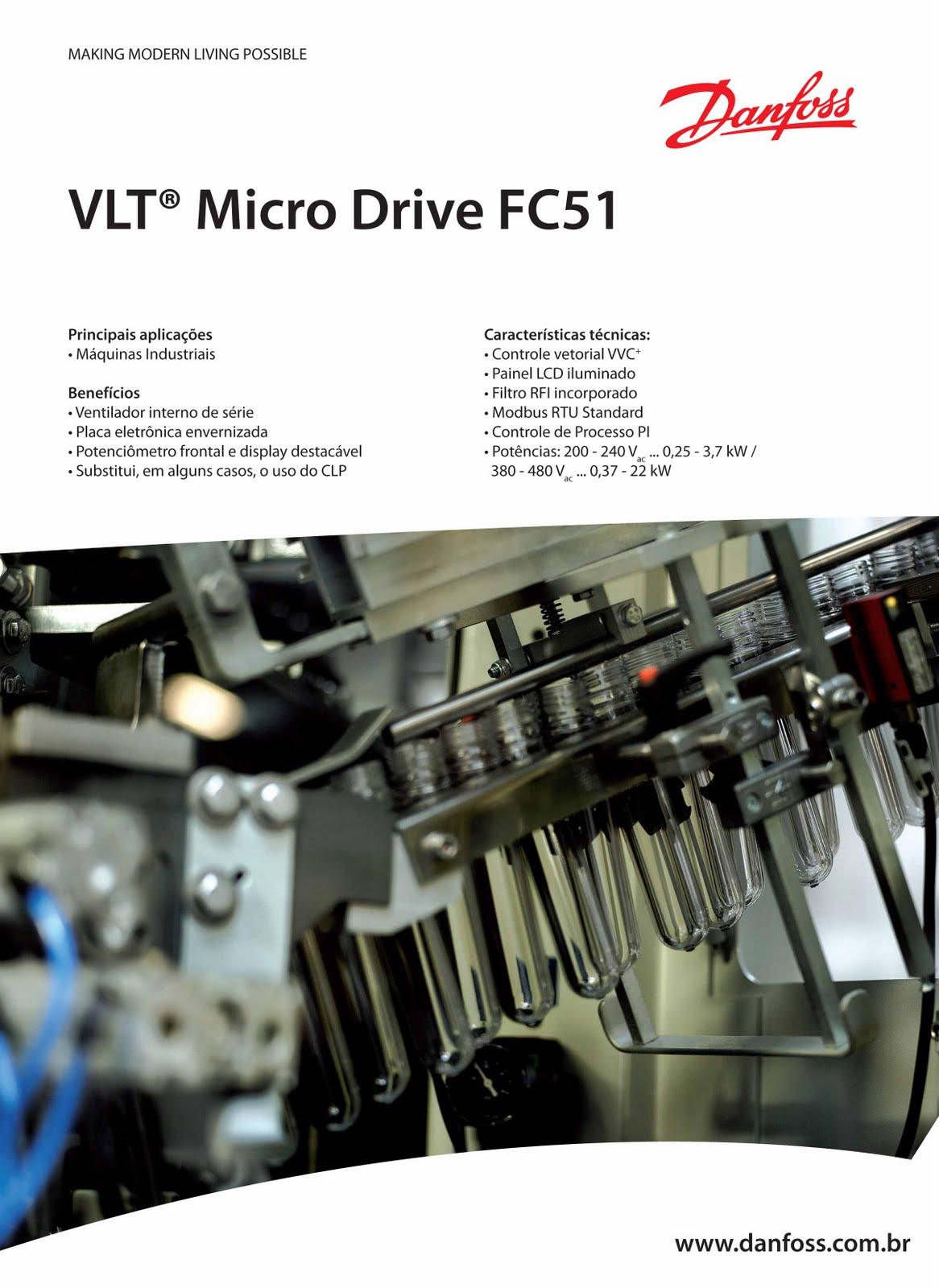 danfoss vlt fc-051 инструкция