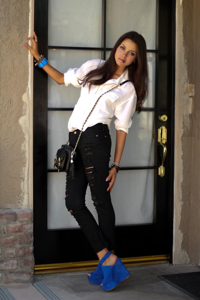 Vivaluxury Fashion Blog By Annabelle Fleur Surrender To The Blue