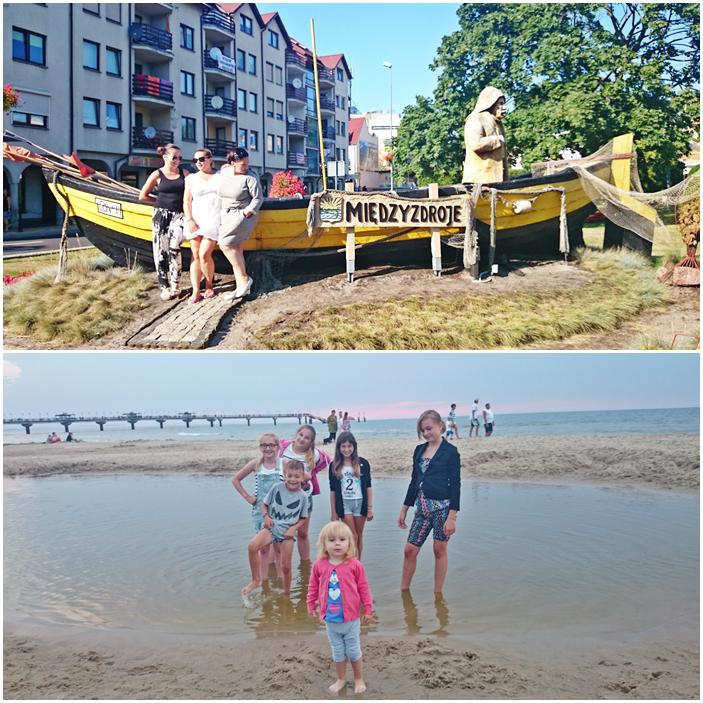 polskie morze,bałtyk,międzyzdroje,plaża,dzieci nad morzem,plaża w międzyzdrojach