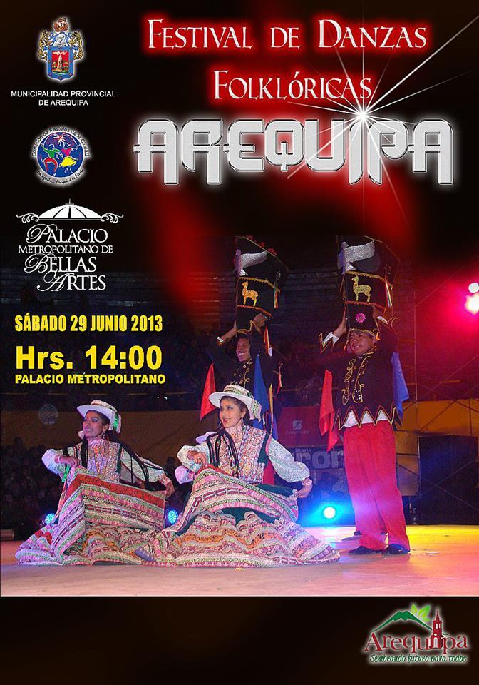 Festival de danzas Folklóricas (29 junio)