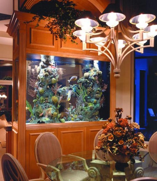 Beautifull design for your home design of relaxation room Beautiful aquariums for home