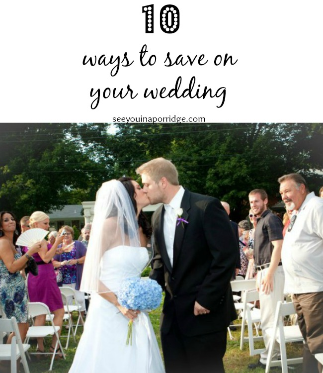 10 ways to save on your wedding